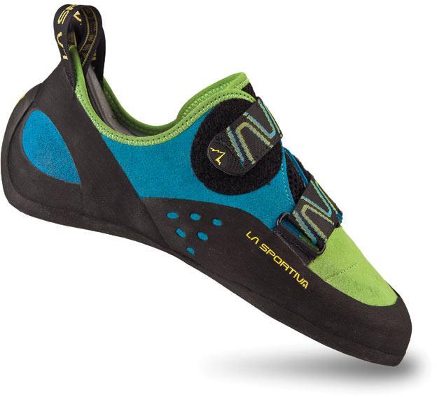 Купить Комфортные скальные туфли для любого типа лазания La Sportiva Katana Yellow / Black