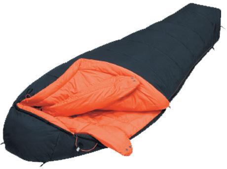 Укороченная версия спальника для зимнего туризма и альпинизма Alexika Delta Compact 8205.1010