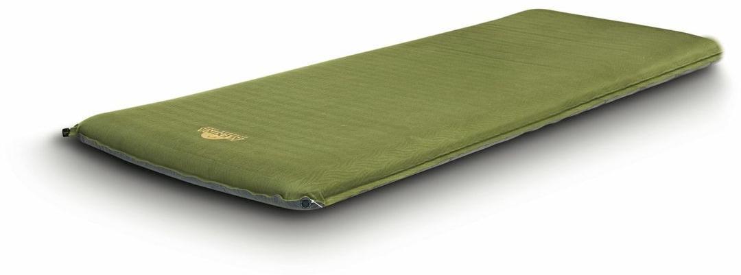 Самонадувающийся коврик туристический толщиной 10 см для комфортного отдыха Alexika Grand Comfort