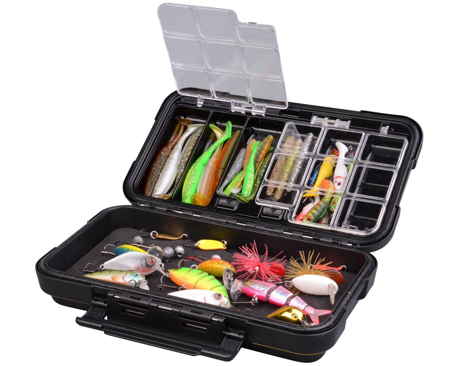 Коробка рыболовная SPRO MULTI STOCKER Size XL 197x115x50mm, Ящики и чехлы - арт. 183310343
