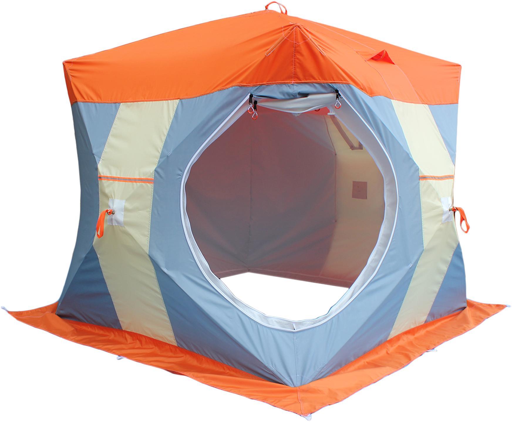 Палатка рыбака Нельма-Куб 2 (двухслойная), Палатки автоматы - арт. 488680325