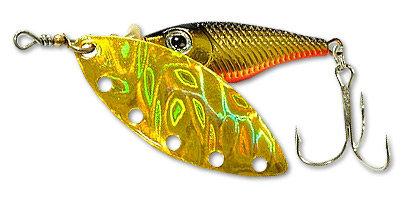 Блесна вращ. DAIWA Silver Creek Spinner-R 1120 Holo Kurakin (10000015)