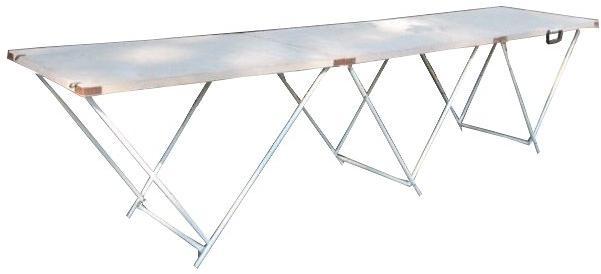 Стол для торговли раскладной 2,7х0,6 см