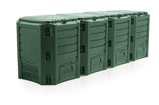 Компостер садовый 1600л Module IKSM1600Z-G851 зеленый, Биотуалеты - арт. 647820225