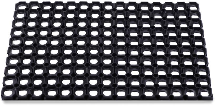 Коврик резиновый Helex ячеистый грязесборный 40х60 см.,16мм. (Н02)