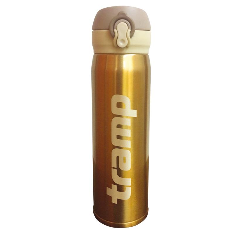 Термос облегченный 0,5 л. Tramp TRC-081 (Золотой)
