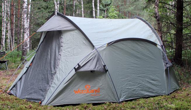 Палатка WoodLand Oasis 3 (0049575), Палатки трехместные - арт. 386680321