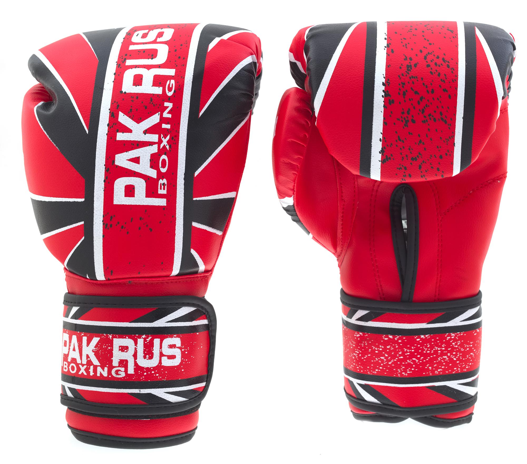 Перчатки боксерские Pak Rus, искусственная кожа Amiko, 12 OZ, PR-11-017 - артикул: 800920392