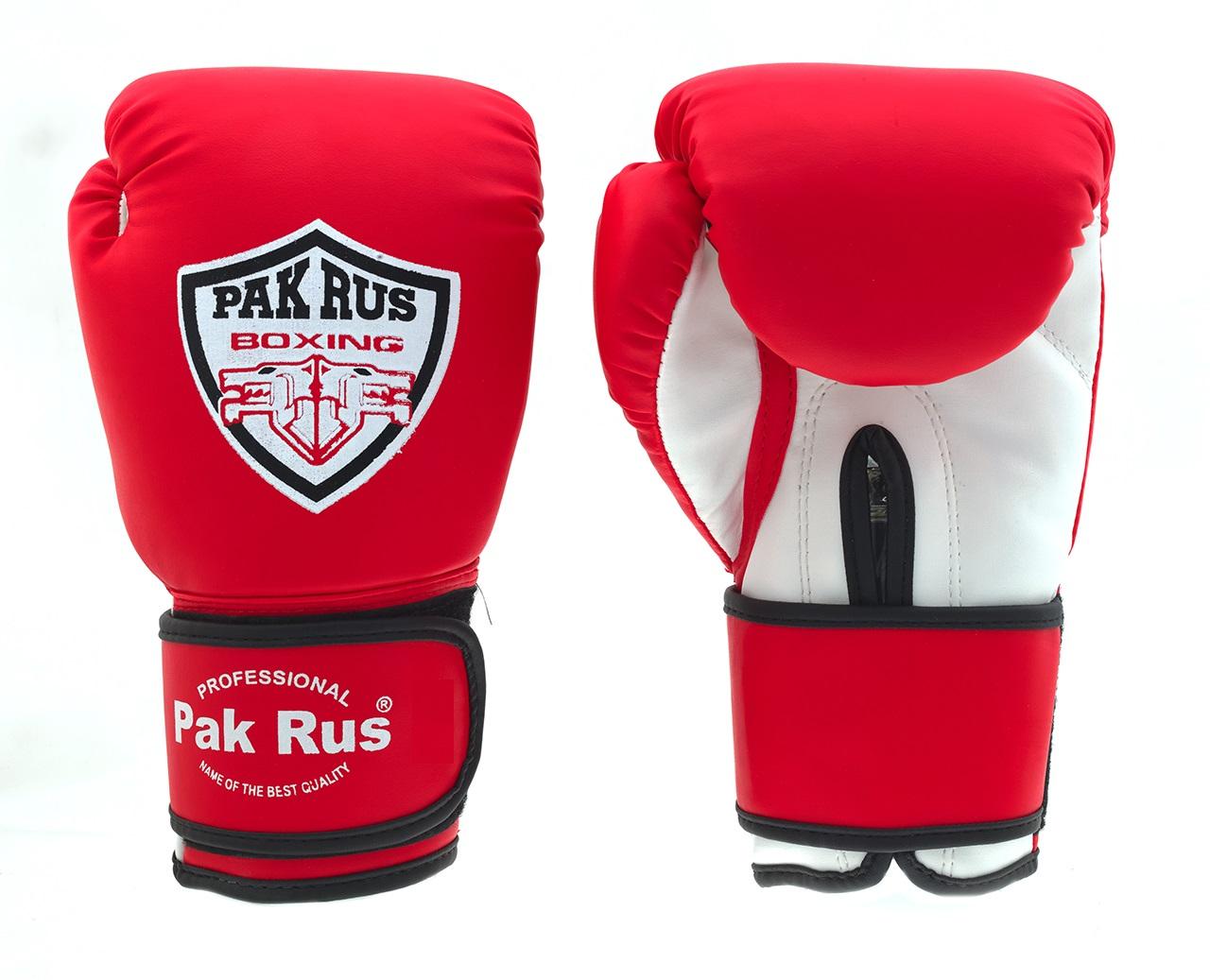 Перчатки боксерские Pak Rus, искусственная кожа Amiko, 12 OZ, PR-11-008 - артикул: 800900392