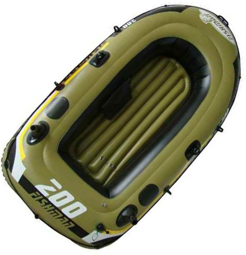 Лодка надувная Fishman 200 SET (весла+насос) JL007207-1N, Лодки - арт. 186090222