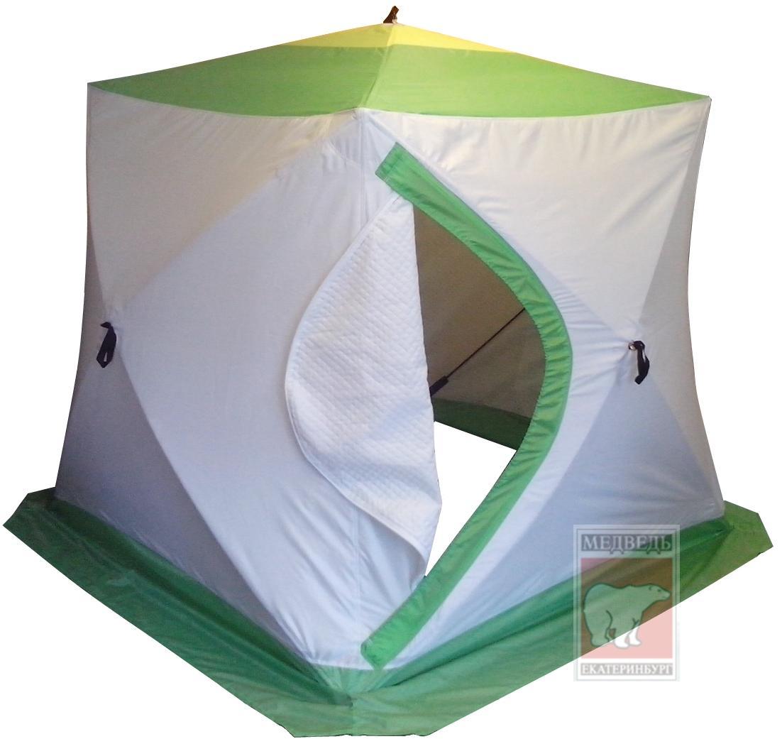 Палатка для зимней рыбалки Медведь Куб-2 180х180 (3-х слойная)