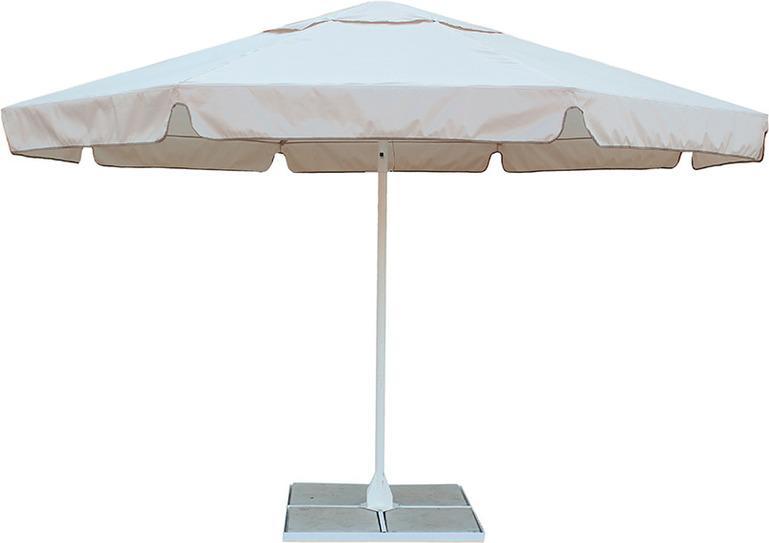 Зонт с воланом Митек 4,0М восьмигранный, стальной каркас, с подставкой, Тенты - арт. 571160224