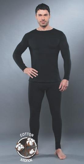 Рубашка с длинным рукавомом GUAHOO Health Warm 650-S/BK, Рубашки - арт. 199560163