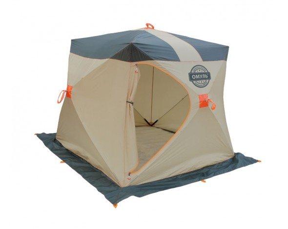 Палатка рыбака Митек Омуль-Куб 1, Палатки для охоты и рыбалки - арт. 979420375