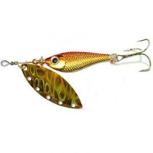 Купить Блесна вращ. DAIWA Silver Creek Spinner-R 1150 Holo Kurokin (10000019)
