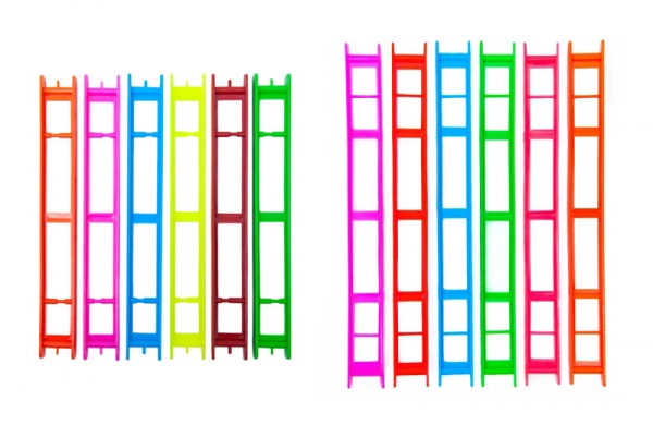 Мотовило 1-рядное флюор. (250х23мм) (10шт.)(Три кита)