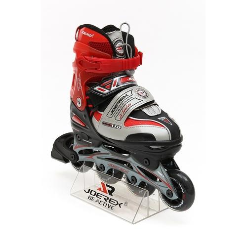 Роликовые коньки JOEREX JX7L (красный)