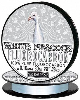 Леска Balsax White Peacock Fluorocarbon 30м 0,10