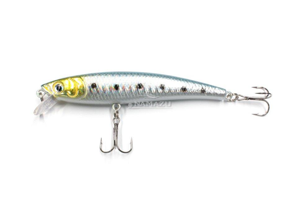 Воблер minnow плавающий Namazu BOB-fish, L-95мм, 8,7г, (0,5-1,0м), цвет 10 N10-95-10