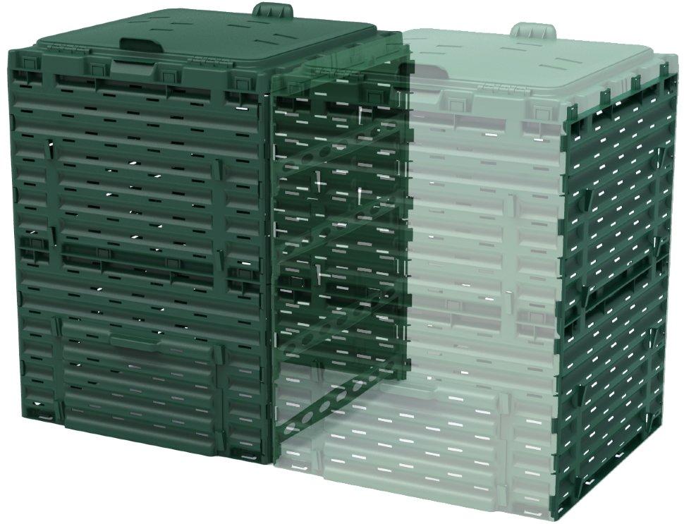 Купить Соединитель для компостера садового Piteco 300 л K2030 зеленый