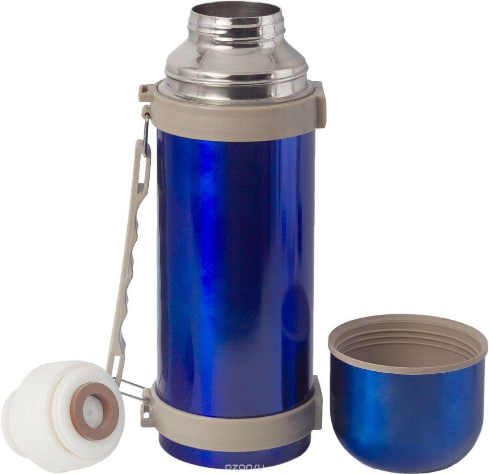 Купить Термос Indiana H039 1, 6 л (синий), Форма одежды