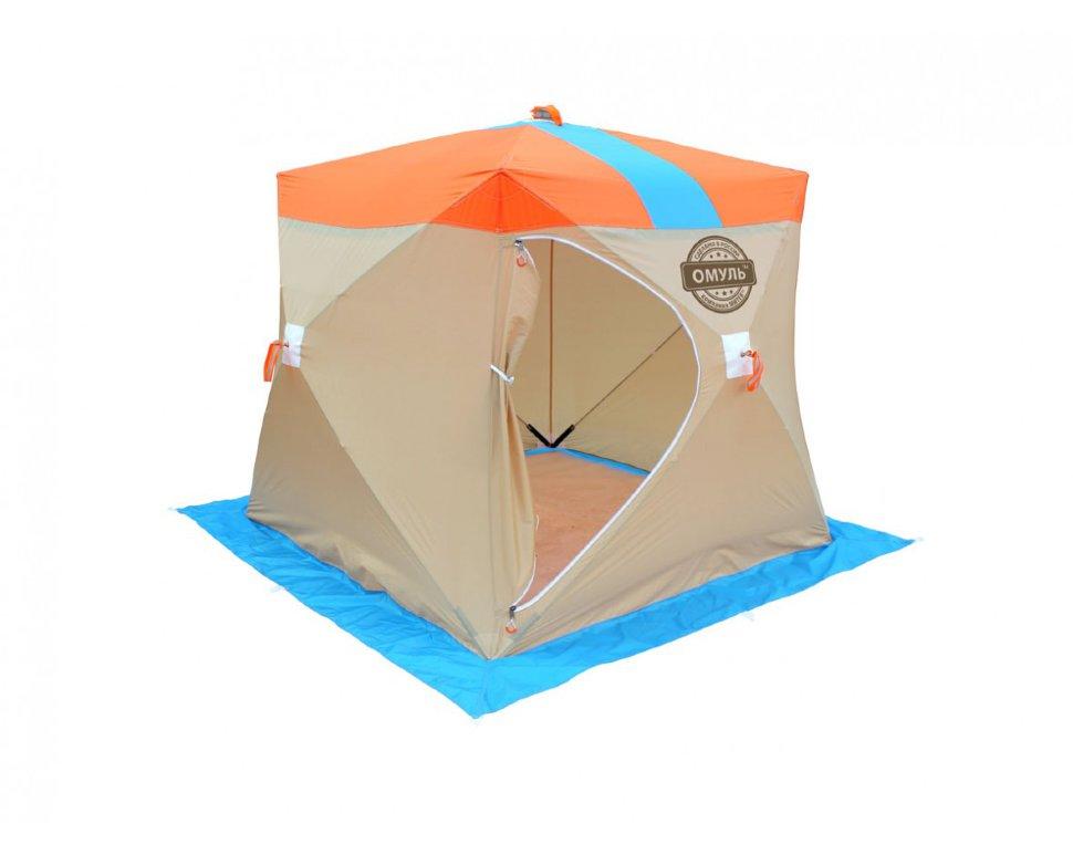 Палатка рыбака Митек Омуль-Куб 2, Палатки для охоты и рыбалки - арт. 1145270375