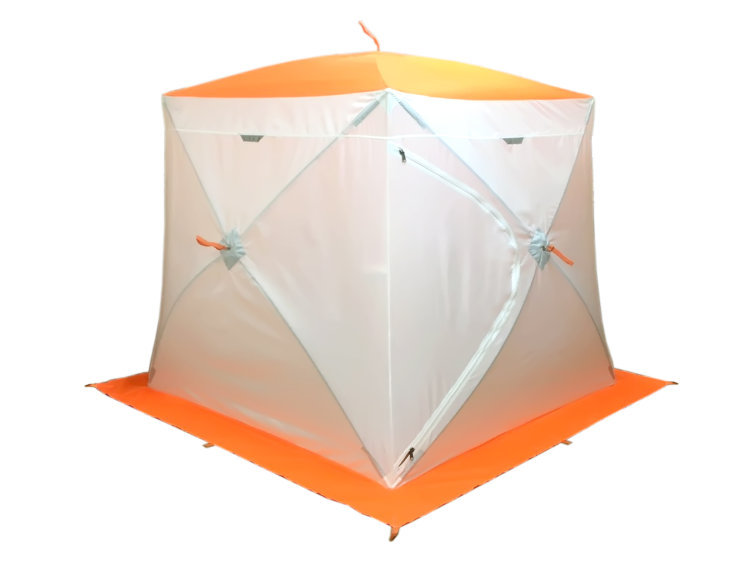 Зимняя палатка куб Пингвин Мr. Fisher 200 ST с юбкой двухслойная в чехле, Палатки - арт. 1150950162