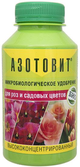 Купить Биоудобрение Азотовит для роз и садовых цветов А10050, Форма одежды