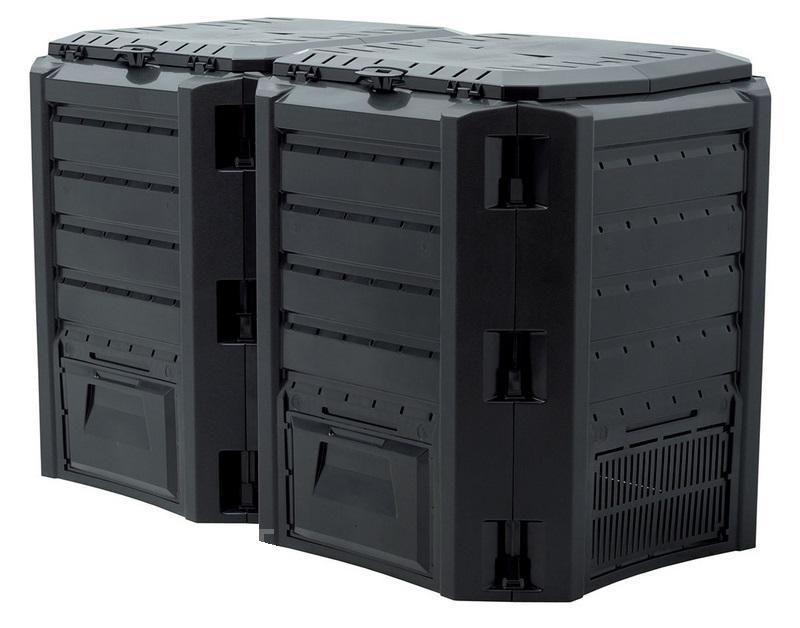 Компостер садовый 800л Module IKSM800C-S411 черный, Биотуалеты - арт. 571150225