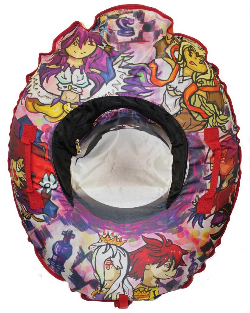 Санки-ватрушки тюбинг SnowDream Cartoon oval Mini 80, Санки, тюбинги - арт. 510330437