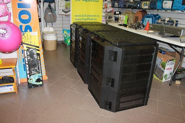 Компостер садовый 1200л Module IKSM1200C черный