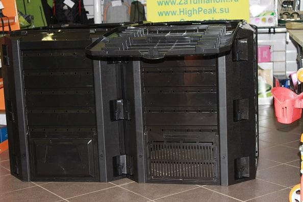Компостер садовый 800л Module IKSM800C-S411 черный