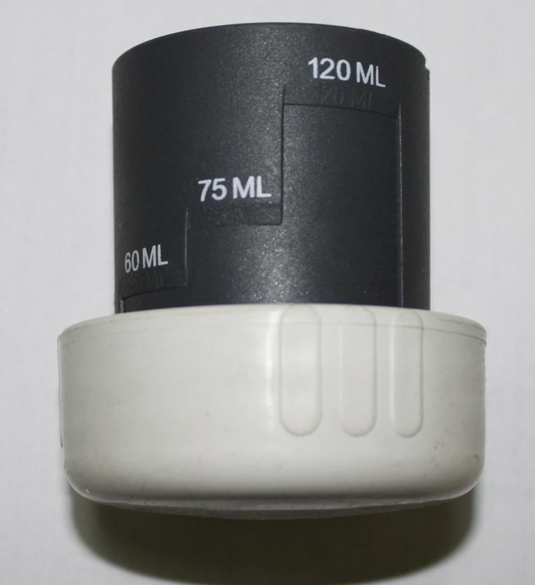Крышка нижнего бака с дозиметром