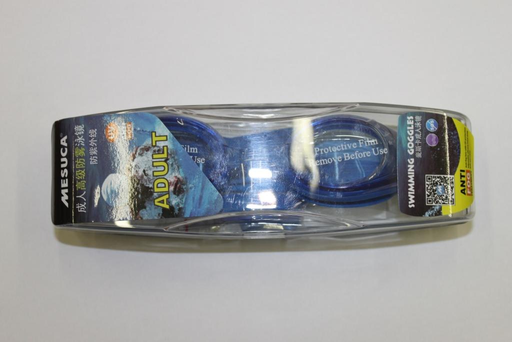 Очки для плавания MESUCA MSM7097 (обработаны антифогом)