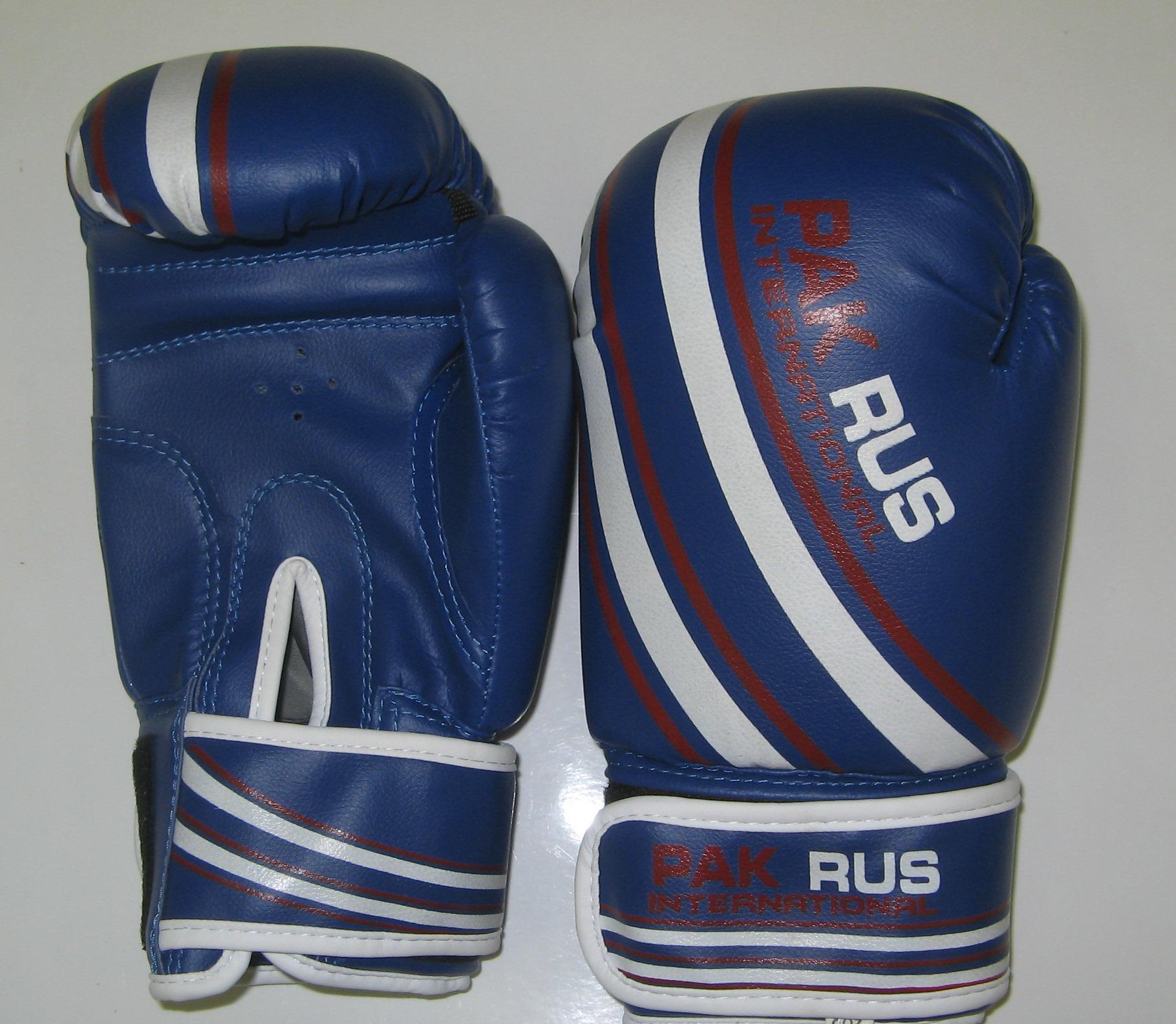 Перчатки боксерские Pak Rus, искусственная кожа, 6 OZ, PR-11-014 - артикул: 800940392
