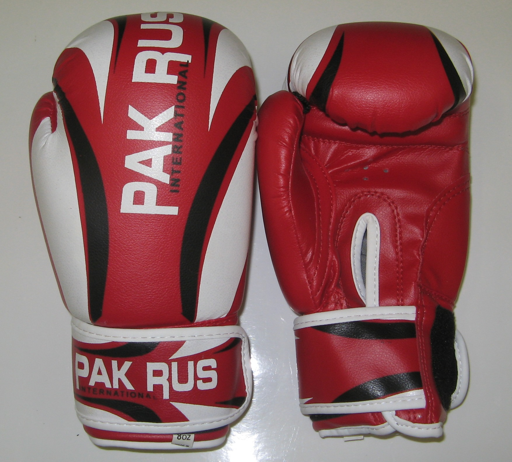 Перчатки боксерские Pak Rus, искусственная кожа, 8 OZ, PR-11-014 - артикул: 800950392