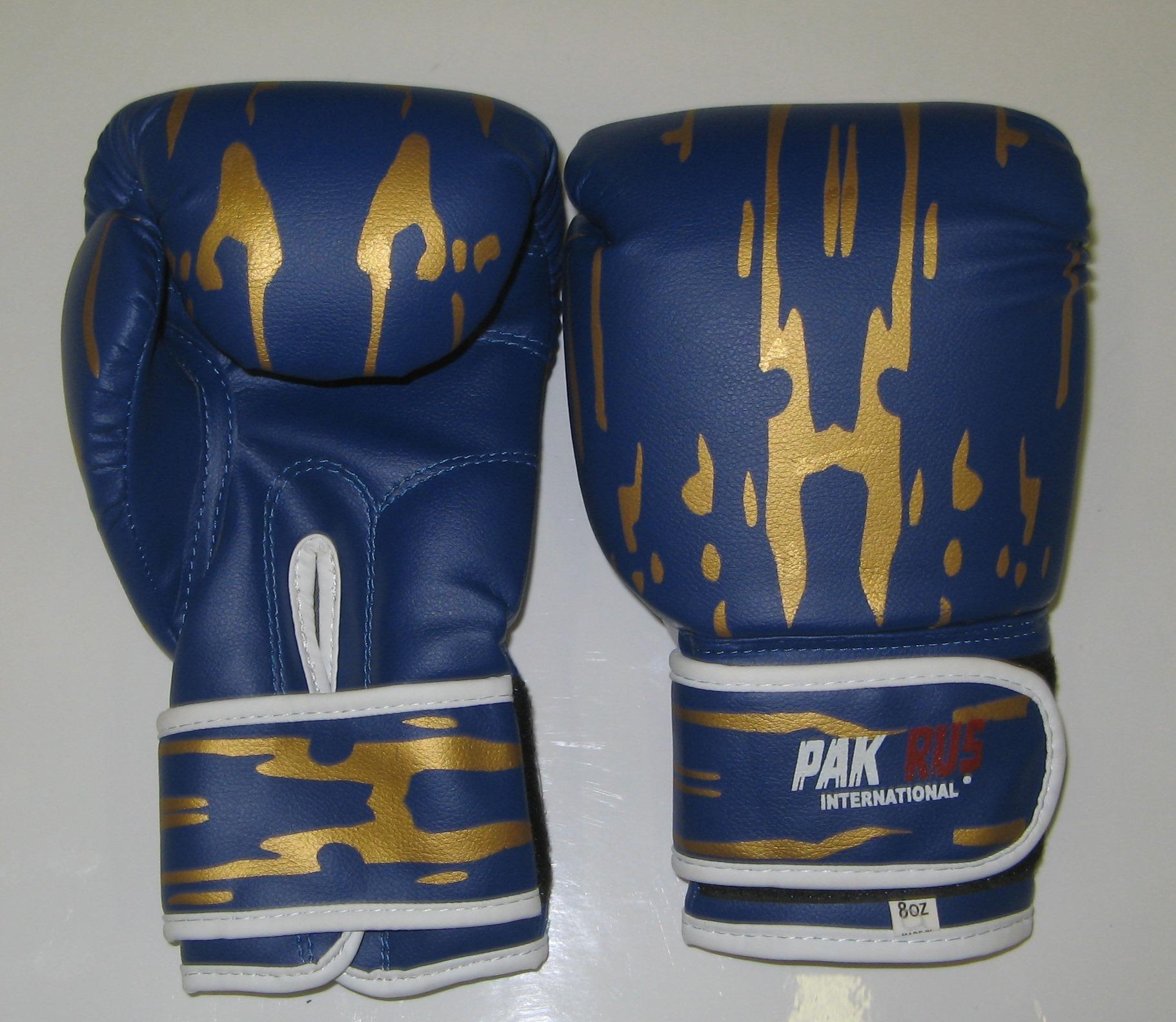 Перчатки боксерские Pak Rus, искусственная кожа, 8 OZ, PR-11-015 - артикул: 800980392