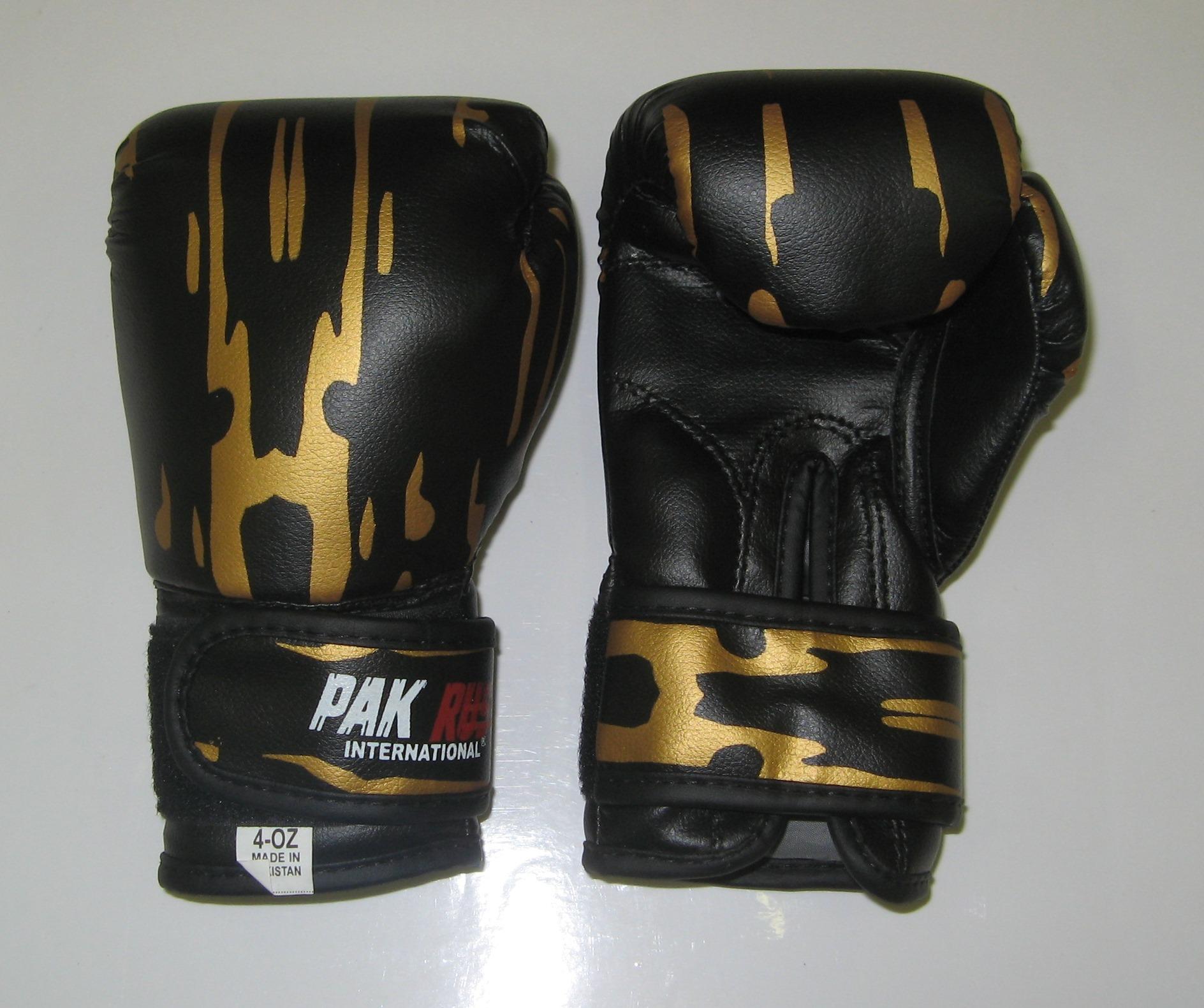 Перчатки боксерские Pak Rus, искусственная кожа, 6 OZ, PR-11-015 - артикул: 800960392