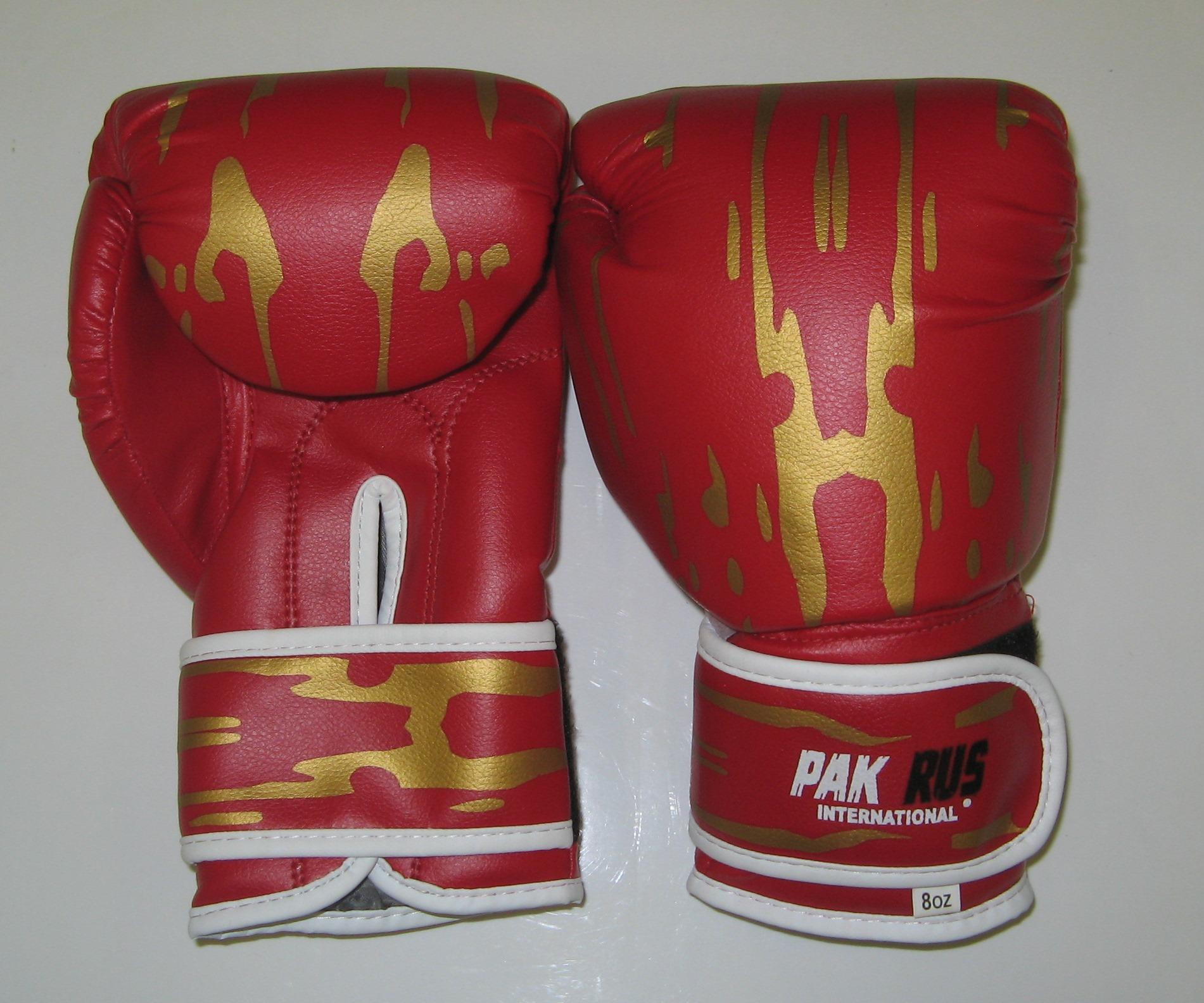 Перчатки боксерские Pak Rus, искусственная кожа, 4 OZ, PR-11-015 - артикул: 800970392