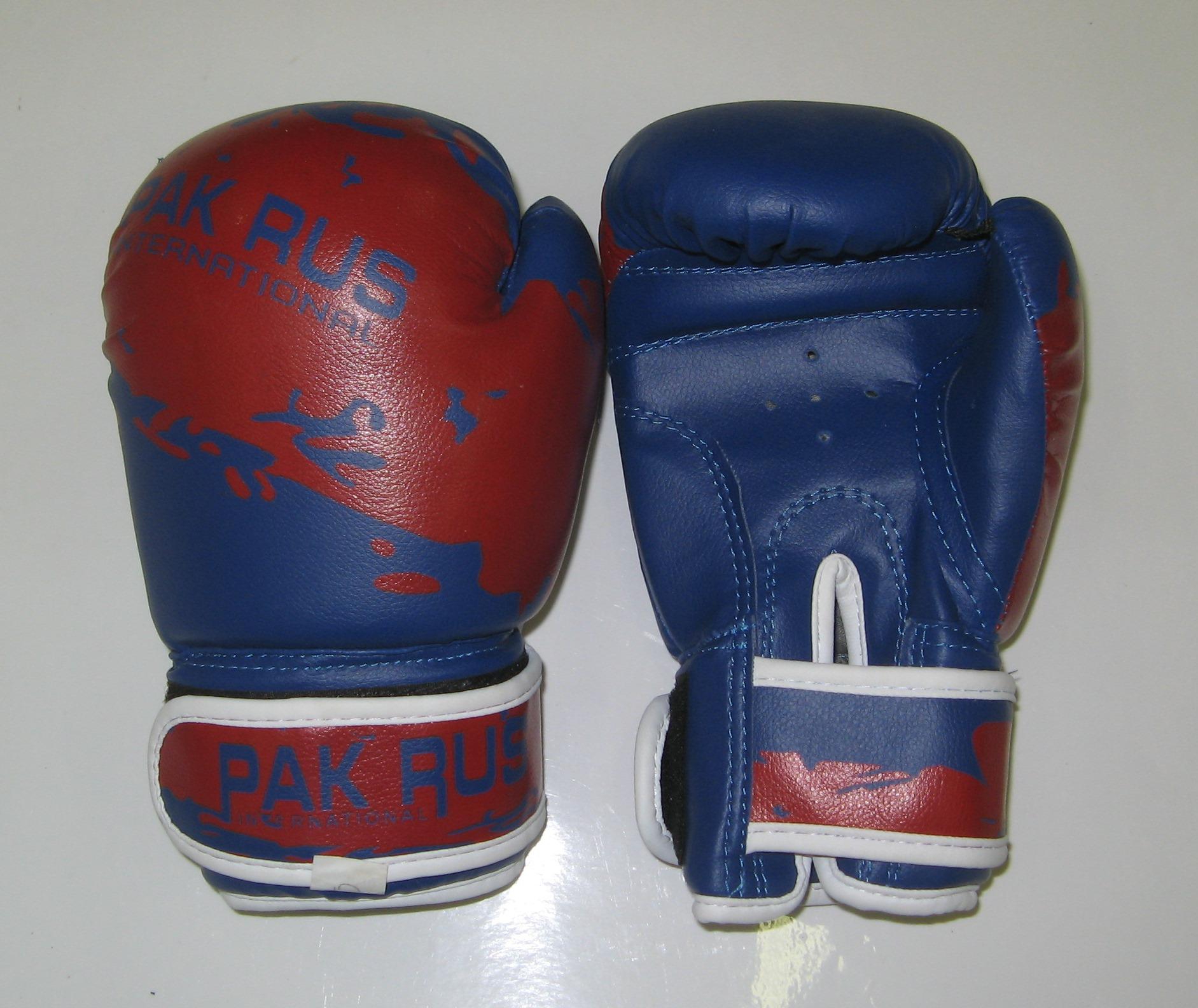 Перчатки боксерские Pak Rus, искусственная кожа, 8 OZ, PR-11-012 - артикул: 801010392