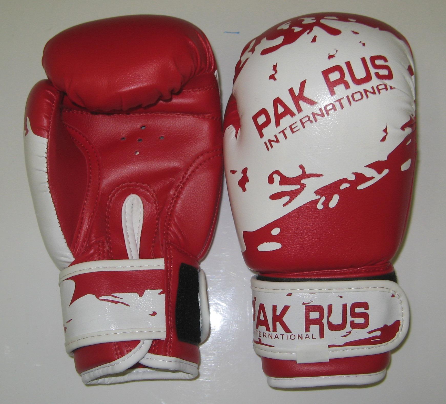 Перчатки боксерские Pak Rus, искусственная кожа, 6 OZ, PR-11-012 - артикул: 801020392