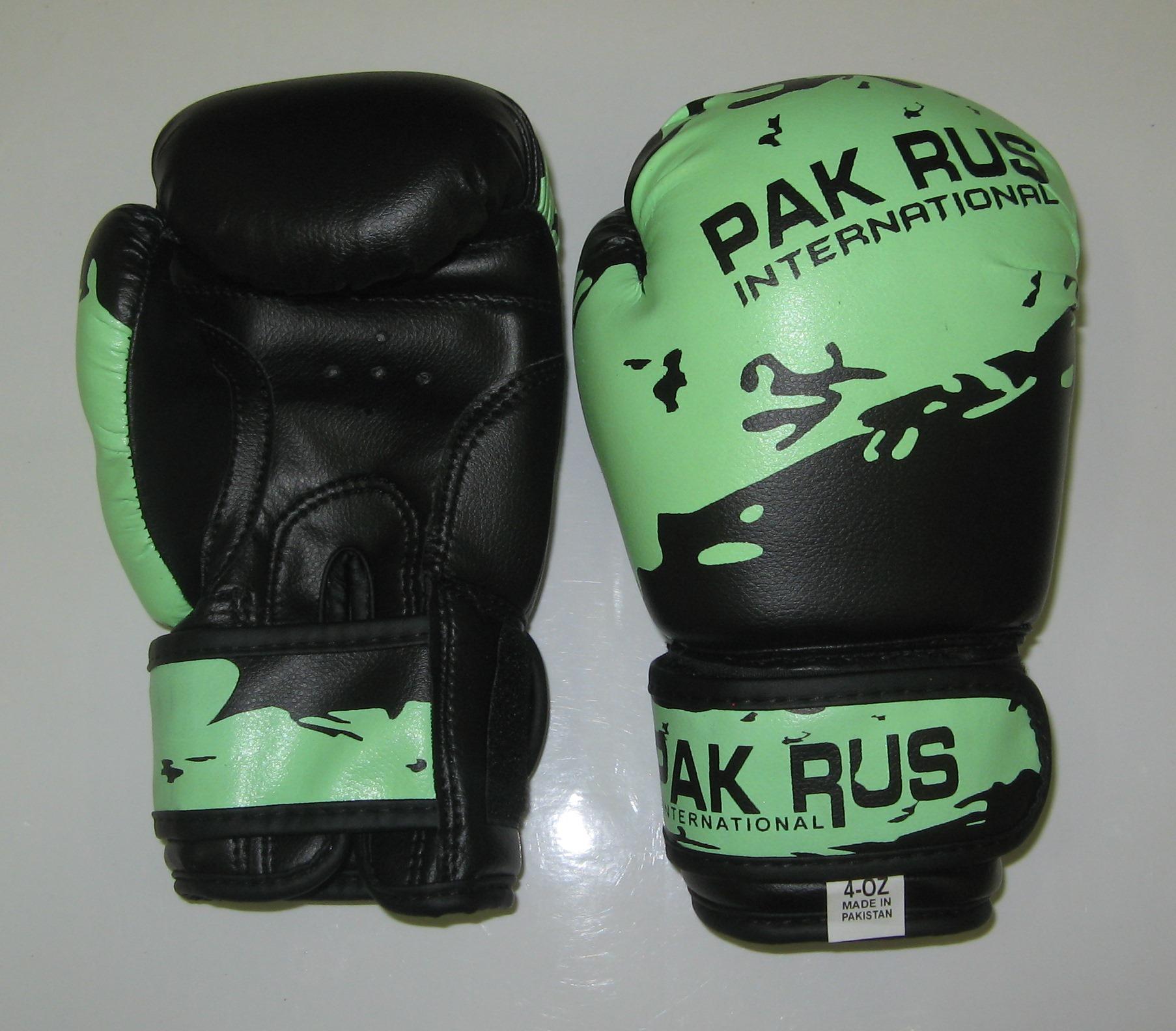 Перчатки боксерские Pak Rus, искусственная кожа, 4 OZ, PR-11-012 - артикул: 801030392
