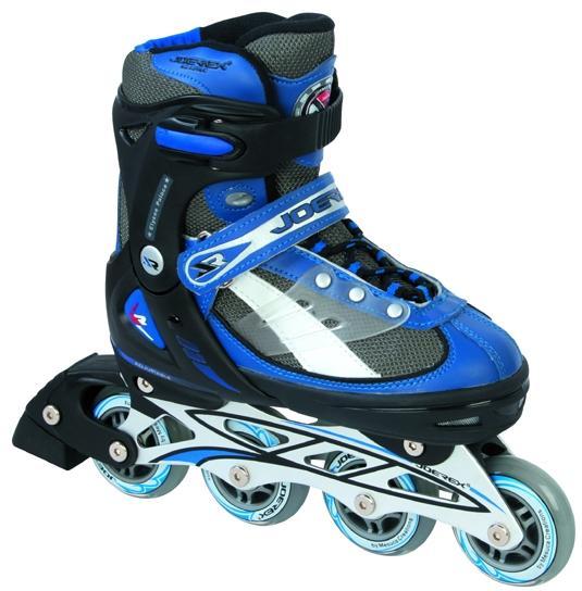 Роликовые коньки JOEREX RO0604 раздвижные (синий/черный) - артикул: 386600430