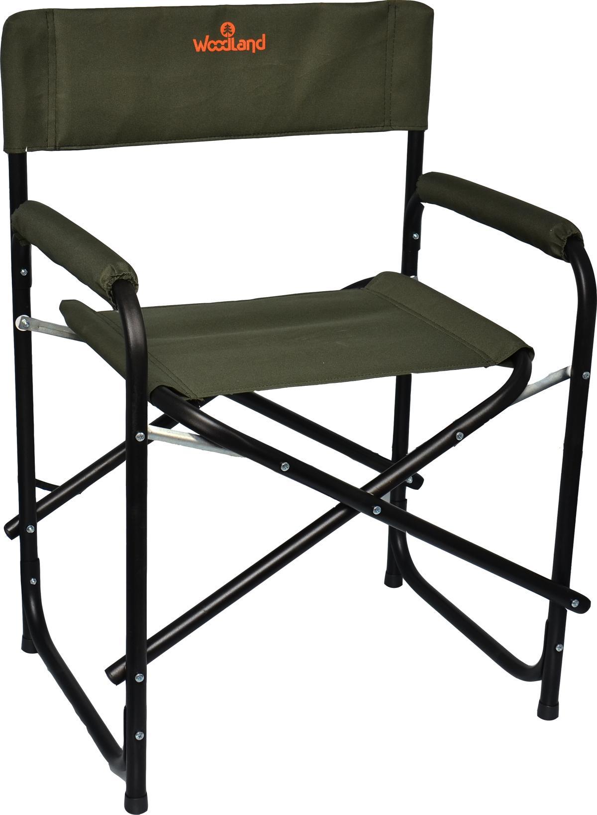 Кресло Woodland OutdoorNEW, складное, кемпинговое, 56 x 46 x 80 см (сталь) SK-01