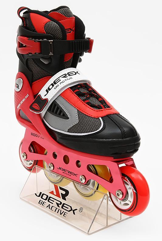 Роликовые коньки JOEREX RO0715 (красный), Роликовые коньки - арт. 199070430