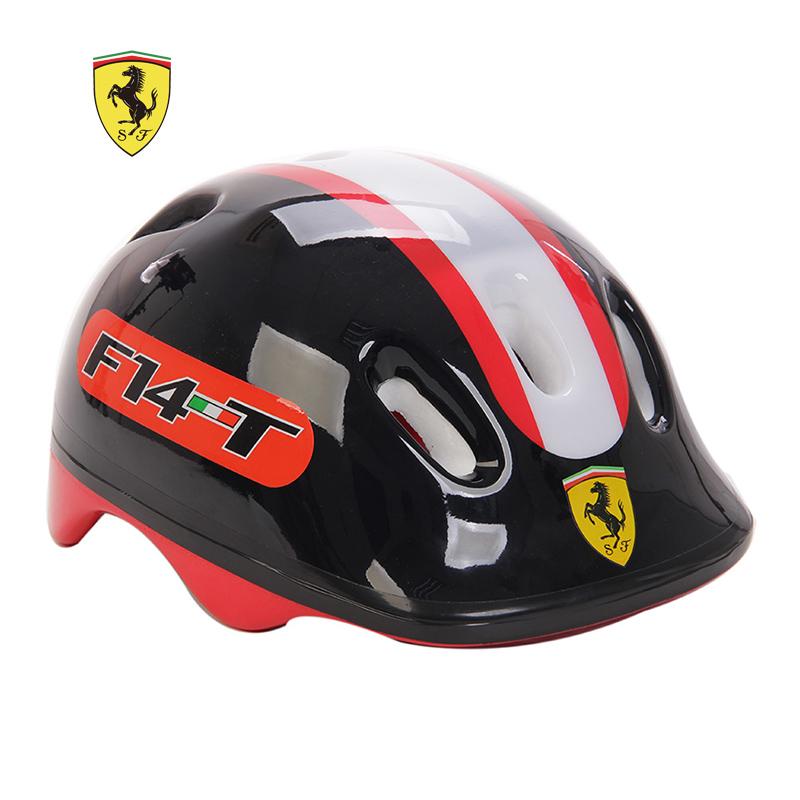 Шлем детский для велосипеда, скейта, роликов Ferrari FAH7