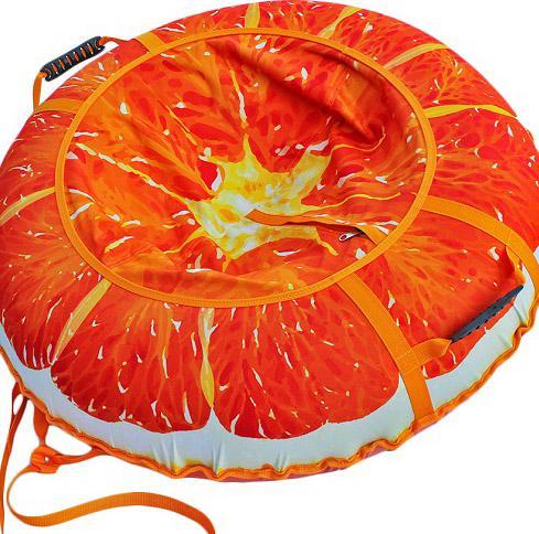 Тюбинг  Сочный апельсин  95см., Санки, тюбинги - арт. 388170437