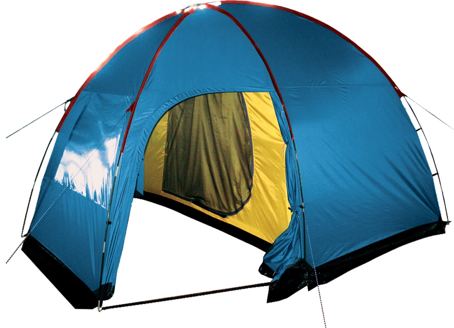 Палатка Sol Anchor 4 (синий) SLT-032.06, Палатки - арт. 837700162