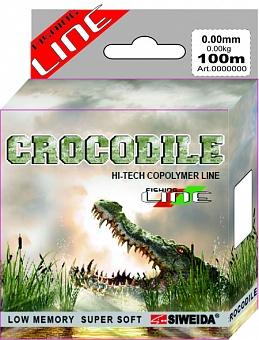 Леска SWD Crocodile 100м 0,16 (2,80кг) ваккум/уп прозрачная