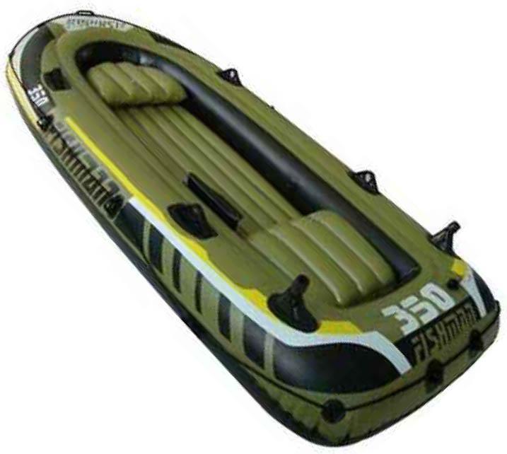 Лодка надувная Fishman 350 SET (весла+насос) JL007209-1N - артикул: 186110222